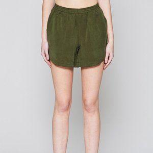 NATIVE YOUTH  Olive Esker Gym Shorts S